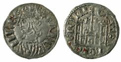 World Coins - SPAIN.Castile and Leon.Sancho IV 1284-1295.Billon.Coronado. Mint of BURGOS.