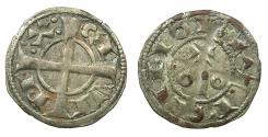 World Coins - SPAIN.County of BARCELONA.Alfonso I ( II of Aragon ) AD 1162-1196.Billon Denaro.