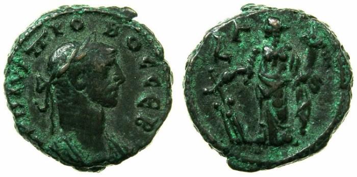 Ancient Coins - EGYPT.ALEXANDRIA.Probus AD 276-282.Billon Tetradrachm, struck AD 277/278.~#~.Tyche.