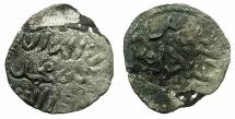 Ancient Coins - SICILY.ENTELLA.Mahammad ibn abbad rebel circa AD 1219-1222.Billon Dirhem ( denaro ).