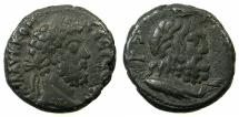 Ancient Coins - EGYPT.ALEXANDRIA.Commodus AD 180-192.Billon Tetradrachma, struck AD 191-92.~#~.Bust of Serapis. ****EX DATTARI COLLECTION ****