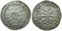 World Coins - ITALY.NAPLES.Robert The Wise AD 1309-1343.AR.Gigliato.