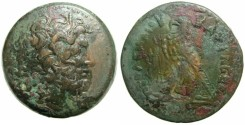 Ancient Coins - PTOLEMAIC EMPIRE.EGYPT.ALEXANDRIA.Ptolemy IV 221-205 BC AE .Drachma. (41mm 75.52g).