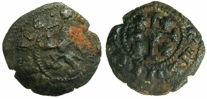 World Coins - CRUSADER STATES.CYPRUS.James II AD 1460-1476.AE.Sezin.