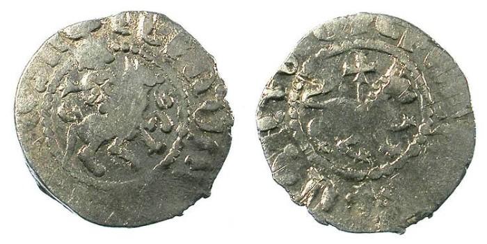 Ancient Coins - ARMENIA.Levon IV 1320-1342.AR.Takvorin.Mint of Sis.Sigla A-M.