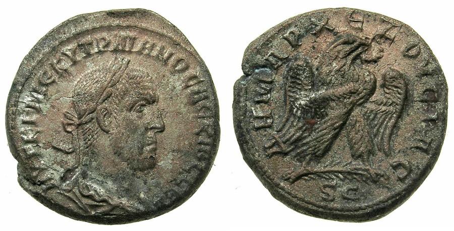 Ancient Coins - SYRIA.SELEUCIS AND PIERIA.ANTIOCH.Trajan Decius AD 249-251.Billon Tetradrachm.