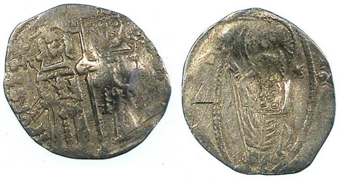 Ancient Coins - SERBIA.Stefan VIII Uros IV Dusan, as Emperor 1346-1355.AR.Dinar