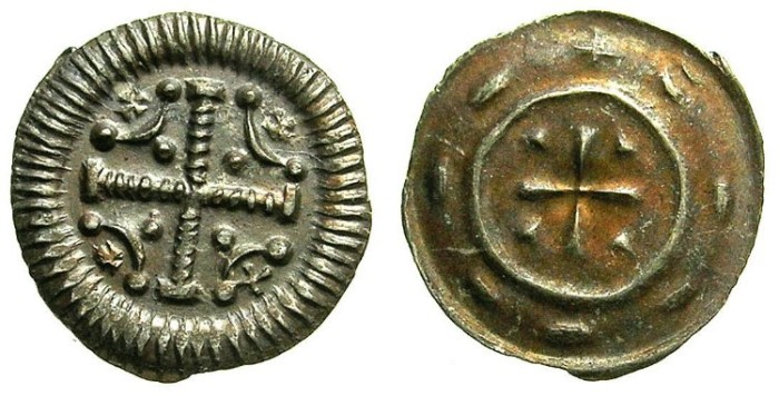 World Coins - HUNGARY.Anonymous issue..AR.Dinar.12th Cent AD.