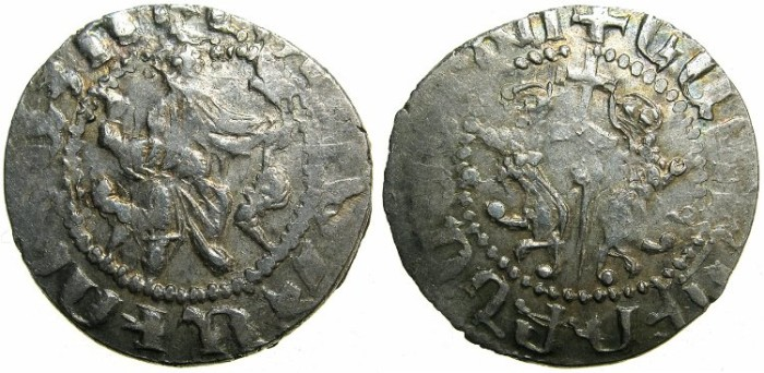 "Ancient Coins - CILICIAN ARMENIA.Levon I The Great AD 1199-1219.AR.Tram. ""Takavor""mis-spelt."