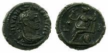 Ancient Coins - EGYPT.ALEXANDRIA. Maximianus Heraclius AD 286-305.Billon tetradrachm, struck AD 286/87. ~#~. Roma enthroned.