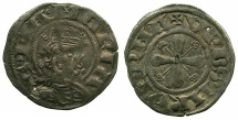 World Coins - FRANCE.AUVERGNE.Bishopric of Clermont.Anonymous Denier.12th cent AD.