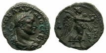 Ancient Coins - EGYPT.ALEXANDRIA. Claudius II Gothicus AD 268-270.Billon Tetradrachm, struck AD 269/70.~#~.Nike flying right.