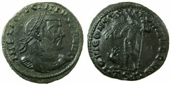 Ancient Coins - ROMAN.Licinius I AD 308-324.AE.Follis.Mint of THESSALONIKA