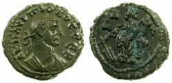 Ancient Coins - EGYPT.ALEXANDRIA.Probus AD 276-282.Billon Tetradrachm, struck AD 278/279.~#~.Tyche standing.