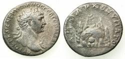 Ancient Coins - CAPPADOCIA.CAESAREA-EUSEBIA.Trajan AD 98-117.AR.Didrachm, stuck circa 112-117.~#~.Mount Argaeus.