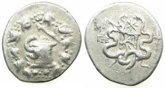 Ancient Coins - IONIA.EPHESUS.Cistophoric Tetradrachm. Dated issue struck 135/4BC.
