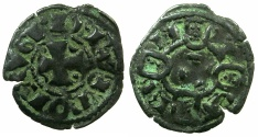 World Coins - PORTUGAL.Dinis I AD 1279-1325.Billon Dinero.