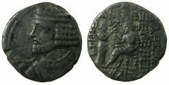 Ancient Coins - PARTHIA.Vologases I .1st reign circa AD 50-55.AR.Tetradrachm.mint of Seleucia on Tigris.