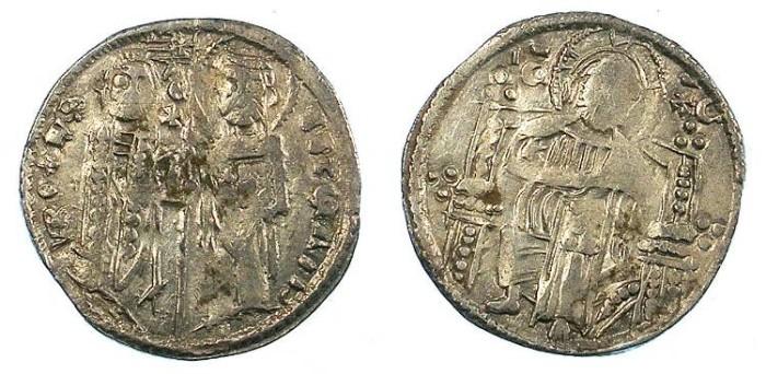 Ancient Coins - SERBIA.Stefan Uros II Milutin 1282-1321.AR.Dinar ( Gros )