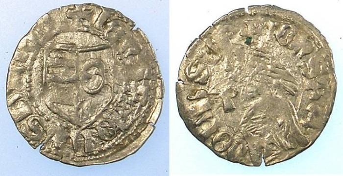 Ancient Coins - ROMANIA.VOIVODES OF WALLACHIA.Radu I 1377-1383.Denier.