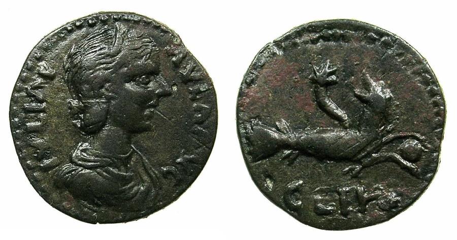 Ancient Coins - MYSIA.PARIUM.Julia Paula Augusta AD 219-220.AE.23mm. ~#~.Capricorn.