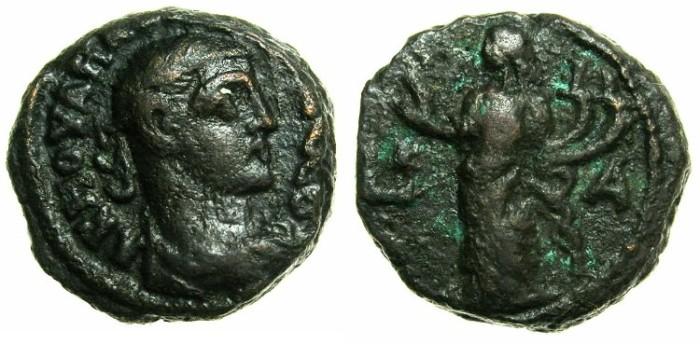 Ancient Coins - EGYPT.ALEXANDRIA.Maximianus Heraclius AD 286-305.Billon Tetradrachm, struck 284/285.~#~.Homonia, double cornucopiae.