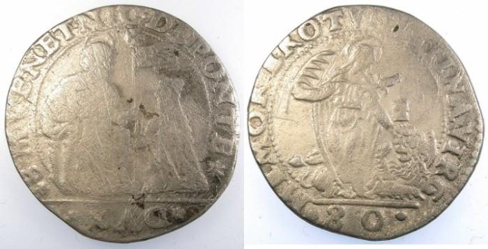 Ancient Coins - ITALY.VENICE.Nicolo da Ponte 1578-1585.1/2 Scudo.NO SIGLA