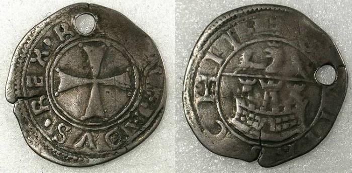 Ancient Coins - CRUSADER.Chios under Genoa The Mahona AR Gros