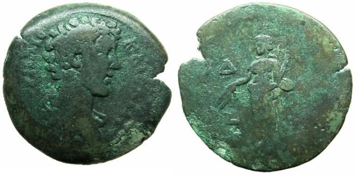 Ancient Coins - EGYPT.ALEXANDRIA.Marcus Aurelius Caesar AD 138 or 139 -161.AE.Drachma.Struck AD 150/151.Eiriene