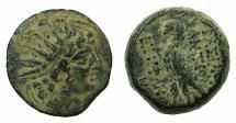 Ancient Coins - SELEUCID EMPIRE.Antiochus VIII 121-96 BC.AE.Mint of ANTIOCH~#~Eagle.