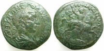Ancient Coins - THRACE.HADRIANOPOLIS.Gordian III AD 238-244.AE.27.~#~Emperor on horse.