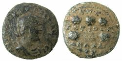 Ancient Coins - CILICIA.ANAZABUS.Valerian Senior AD 253-260.AE.28.1mm. struck AD 253/4.  Reverse.Six prize urns.
