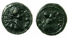 Ancient Coins - MOESIA INFERIOR.TOMIS.Geta AD 198-208.AE.17.5mm. Reverse. Athena.