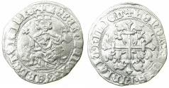World Coins - ITALY.Kingdom of Naples.Robert 'The Wise' of Anjou AD 1309-1343.AR.Gigliato. Posthumus issue, uncertain king.