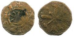 World Coins - CRUSADER.County of Tripoli.Raymond III 1152-1187.AE.Fraction.Type 2
