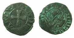 World Coins - CRUSADER.GREECE under VENICE.Andrea Contarini AD 1368-1382.Bi.Tornesello.