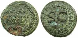 Ancient Coins - ROME.Augustus 27BC-AD 14.AE.Dupondius, struck 16BC.C.Cassius Celer Moneyer.