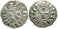 World Coins - CRUSADER.Principality of ANTIOCH.Bohemond III AD 1149-1201.Bi.Denier.Class A.Minority issue AD 1149-1163