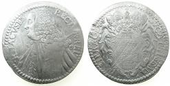 World Coins - CROATIA.RAGUSA.Republic 1528-1814.AR.Tallero 1768 GA