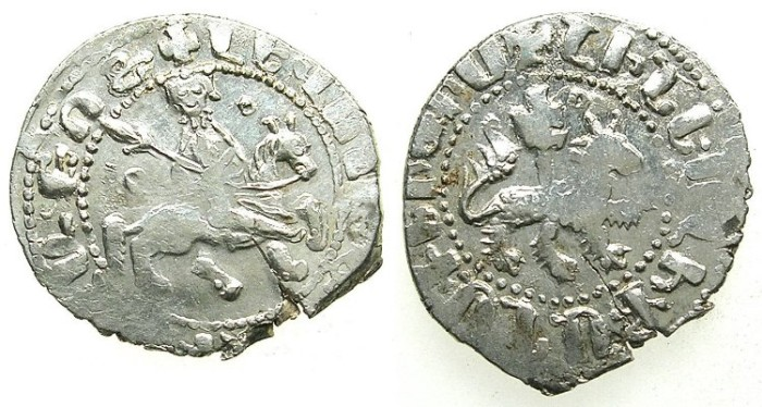Ancient Coins - ARMENIA.Levon The Usurper 1363-1365.AR.Takvorin. Mint of SIS.