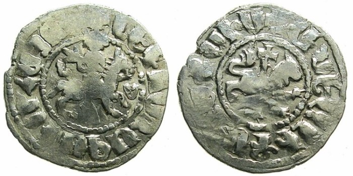 Ancient Coins - ARMENIA.Levon IV 1320-1342.AR.Takvorin.Mint of Sis.