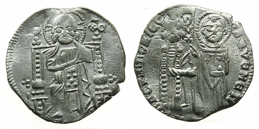 World Coins - VENICE.Bartolemeo Gradenigo AD 1339-1342.AR.Grosso.