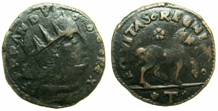 Ancient Coins - ITALY.Kingdom of NAPLES.Ferdinand I ( Ferrante) AD 1458-94.AE.Cavallo, Type A.L'Aquila mint.