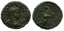 Ancient Coins - EGYPT.ALEXANDRIA.Claudius II Gothicus AD 268-270. Billon Tetradrachm, struck AD 268.~#~.Portrait of Gallienus.