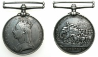World Coins - GREAT BRITAIN.Anglo-Afghan War 1878-1880. campain medal 1878-79-80.RecipientSergeant J.Bickerton