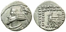 Ancient Coins - PARTHIA.Phraates IV 38-2 BC..AR.Drachma.Mint of EKBATANA