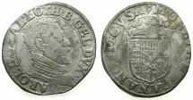 World Coins - FRANCE.Dukes of LORRAINE.Charles III 1545-1608.AR.Testone.No date.