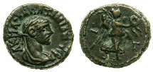 Ancient Coins - EGYPT.ALEXANDRIA.Maximianus Heraclius AD 286-305.Billon Tetradrachm, struck AD 287/88.~#~.Nike flying right.