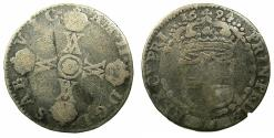 World Coins - ITALY.SAVOY.Vittorio Amadeo II Duke 1680-1713.Billon. 15 Soldi.Mint of Turin.