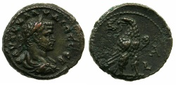 Ancient Coins - EGYPT.ALEXANDRIA.Claudius II Gothicus AD 268-270. Billon Tetradrachm, struck AD 268.~#~.Portrait of Gallienus.